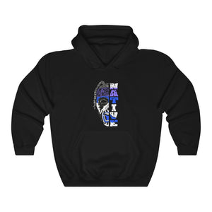 ABK Split Face Unisex Heavy Blend™ Hooded Sweatshirt