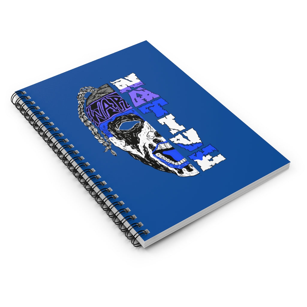 ABK SplSpiral Notebook - Ruled Line