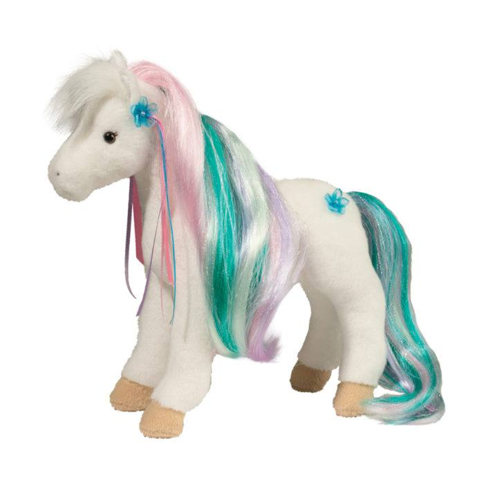 RAINBOW PRINCESS WHT HORSE