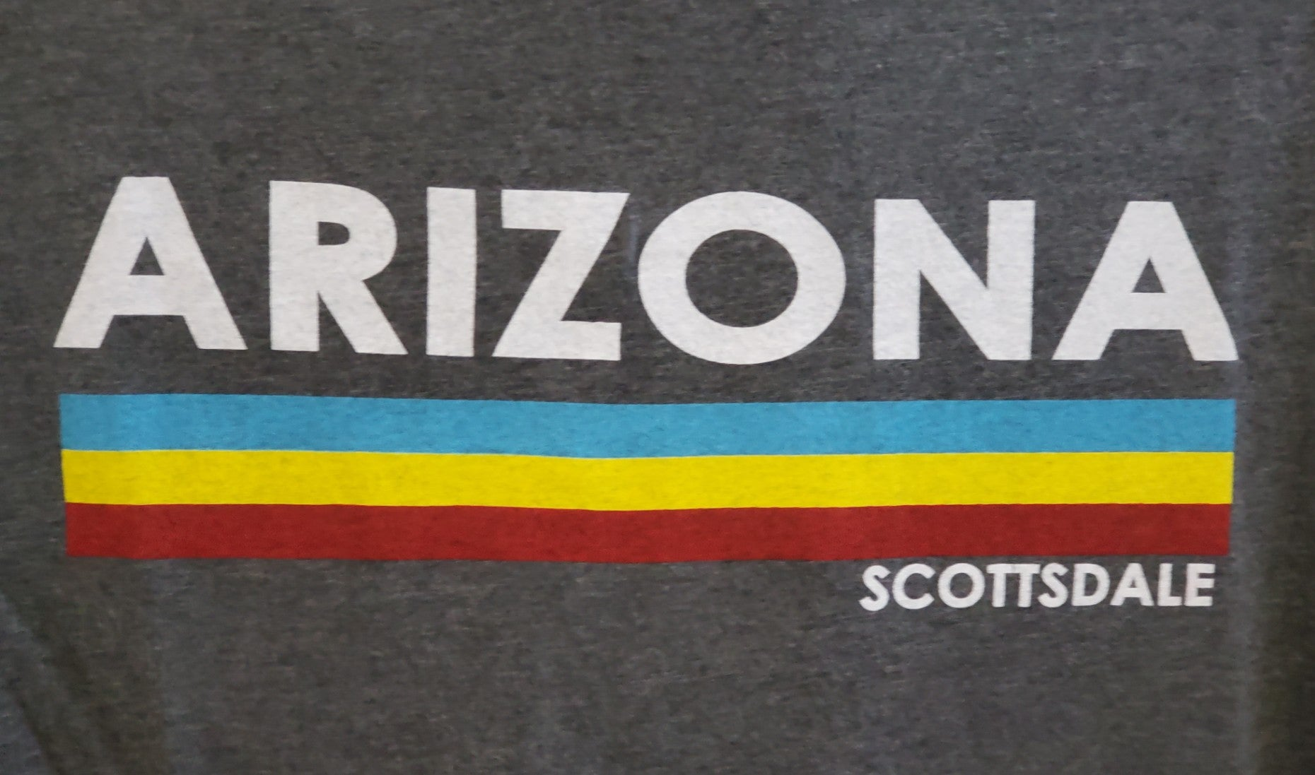 AZ RETRO MULTI STRIPE ADTEE