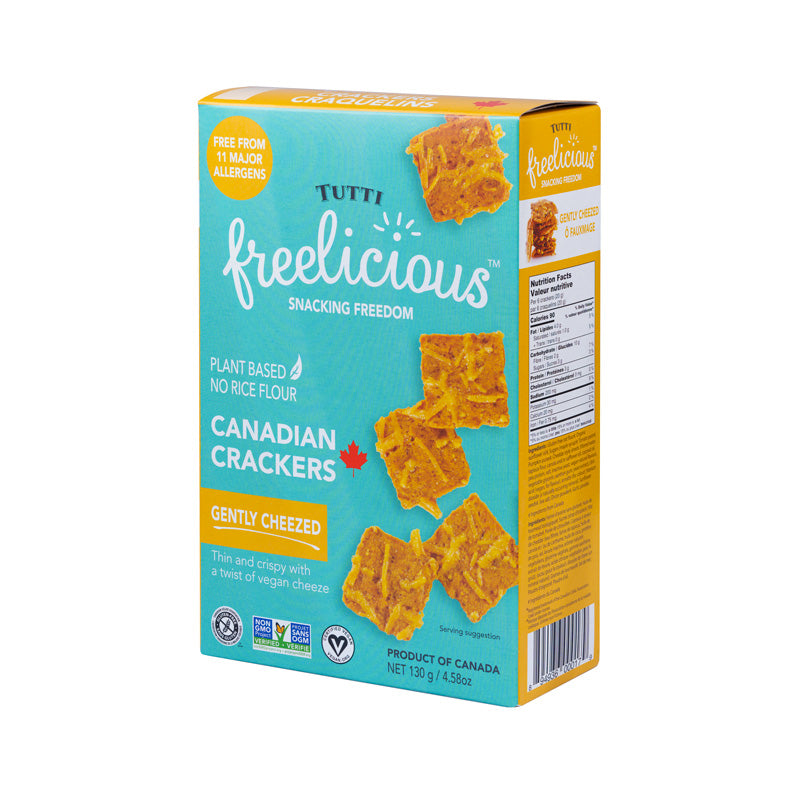 Freelicious crackers - sea salt 130g