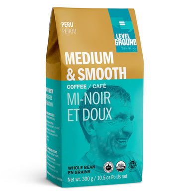 Medium and smooth Whole Bean Coffee 300g