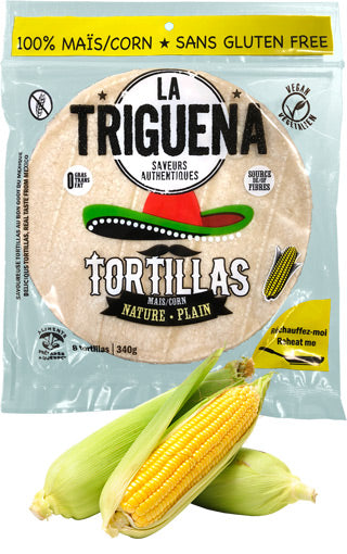 Tortillas de mais 6''