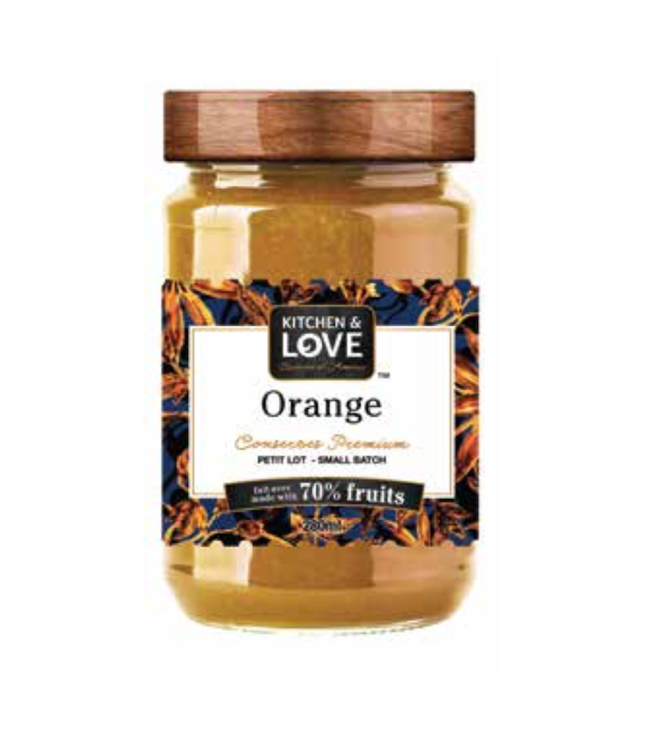 Confiture d'Orange en petit lot 280ml