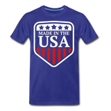 Made In The USA Men's Premium T-Shirt - royal blue