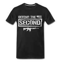 Defend The Second Men's Premium T-Shirt - black