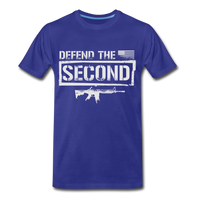 Defend The Second Men's Premium T-Shirt - royal blue