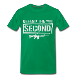 Defend The Second Men's Premium T-Shirt - kelly green
