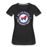 We The People 1776 The Patriot Party Women's Premium T-Shirt - black