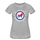 We The People 1776 The Patriot Party Women's Premium T-Shirt - heather gray