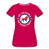 We The People 1776 The Patriot Party Women's Premium T-Shirt - dark pink