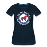 We The People 1776 The Patriot Party Women's Premium T-Shirt - deep navy