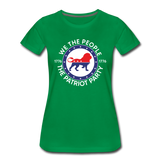 We The People 1776 The Patriot Party Women's Premium T-Shirt - kelly green