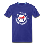We The People 1776 The Patriot Party Men's Premium T-Shirt - royal blue