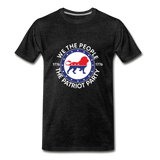 We The People 1776 The Patriot Party Men's Premium T-Shirt - charcoal gray