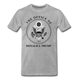 Office of the Former President Donald Trump Men's Premium T-Shirt - heather gray
