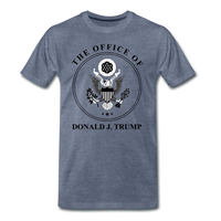 Office of the Former President Donald Trump Men's Premium T-Shirt - heather blue