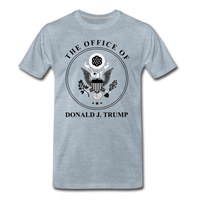 Office of the Former President Donald Trump Men's Premium T-Shirt - heather ice blue