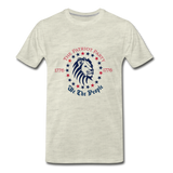 Patriot Party - We The People Men's Premium T-Shirt - heather oatmeal