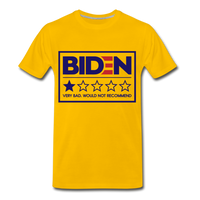 Biden - Very Bad. Would Not Recommend Men's Premium T-Shirt - sun yellow
