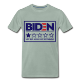 Biden - Very Bad. Would Not Recommend Men's Premium T-Shirt - steel green