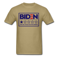 Biden - Very Bad. Would Not Recommend Unisex Classic T-Shirt - khaki