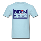 Biden - Very Bad. Would Not Recommend Unisex Classic T-Shirt - powder blue