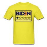 Biden - Very Bad. Would Not Recommend Unisex Classic T-Shirt - yellow