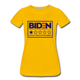 Biden - Very Bad. Would Not Recommend Women's Premium T-Shirt - sun yellow