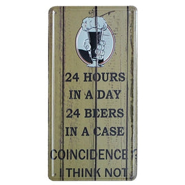 Beer Metal Plate Wall