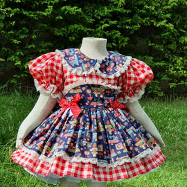 ONLY 1! Vintage Clique Handmade Dress