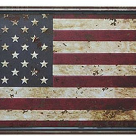 Flag Vintage Metal Wall Poster