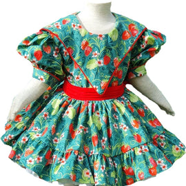 Custom Design Vintage Clique Handmade Dress