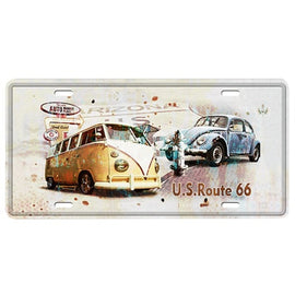 Vehicle Metal Wall Plate