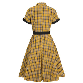 VC Plaid Dress