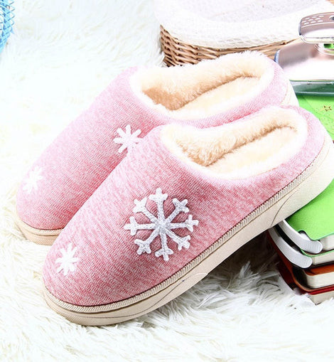 VC Slippers Snow Flakes