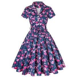VC Flamingo Dress