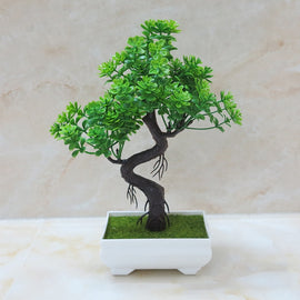 Potted Bonsai Artificial Plant