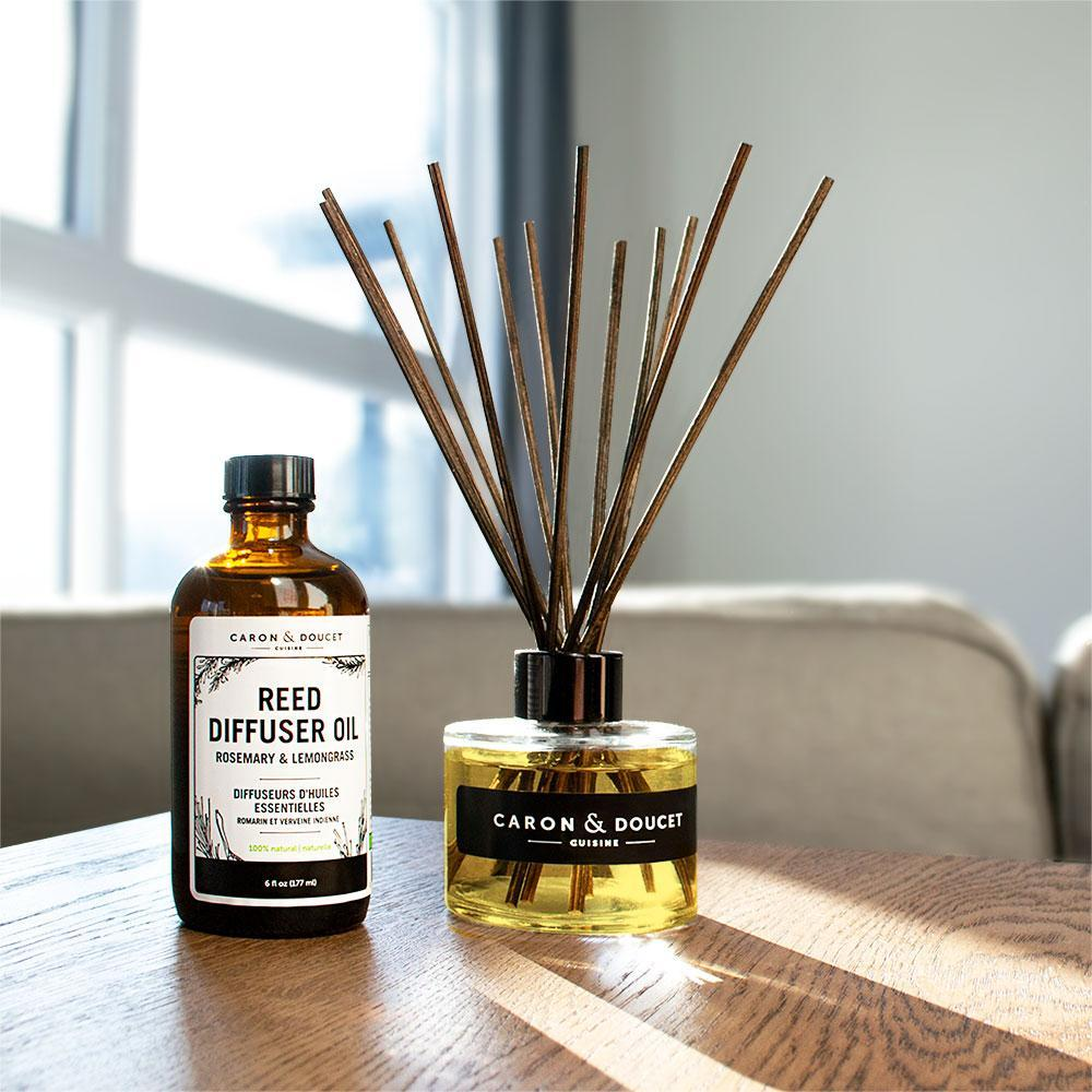 Reed Diffuser Set (Lemon Grass & Rosemary)