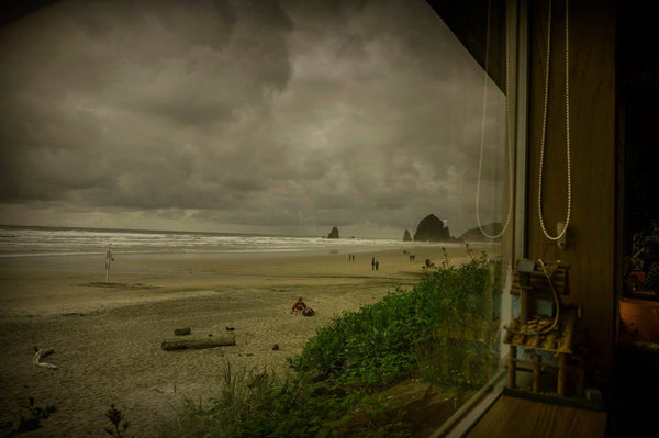 Window ~ Cannon Beach