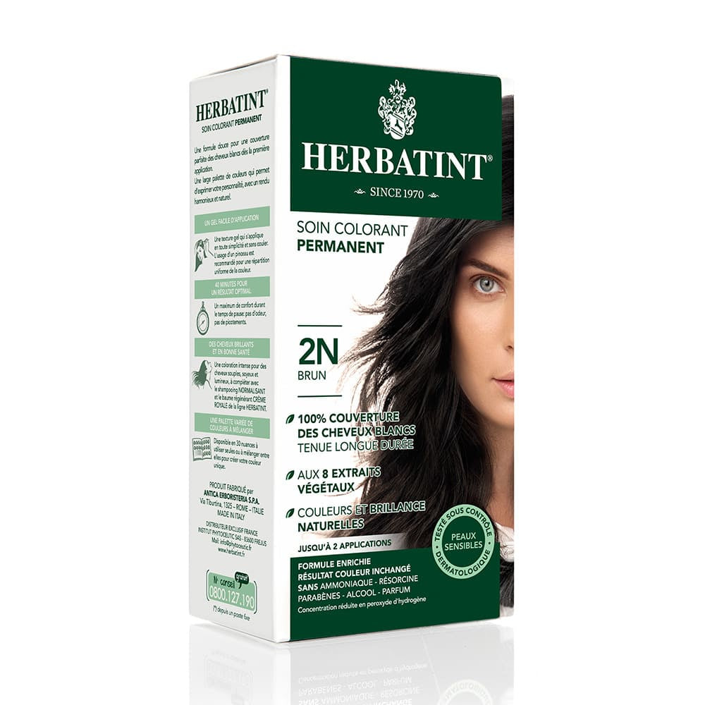 Coloration Cheveux Herbatint 2N Brun