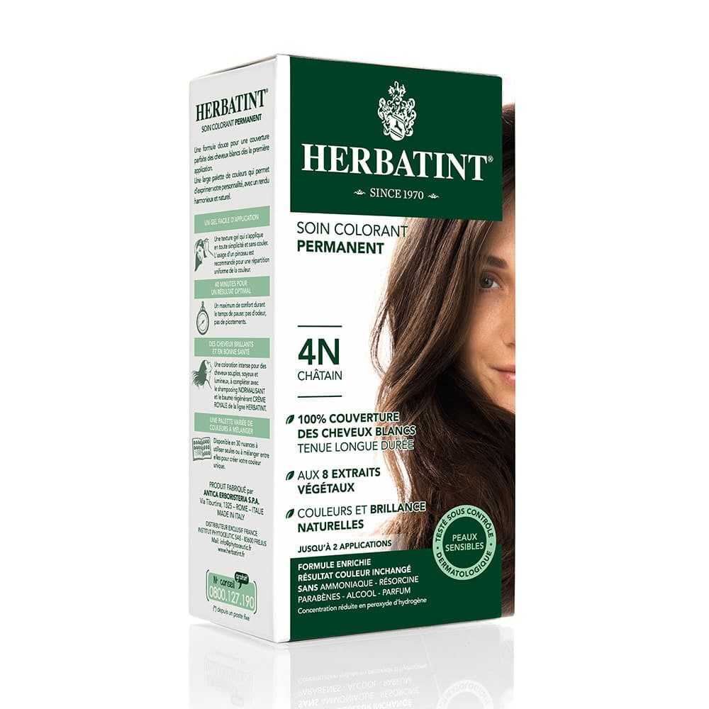 Coloration Cheveux Herbatint 4N Chatain