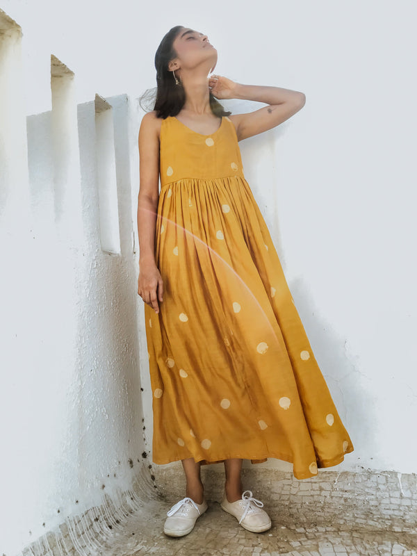 Mustard Ay Dress - Monsoon.thedesignerstore