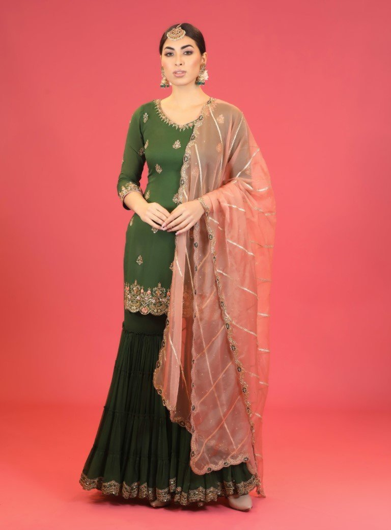 Olive Green Suit - Monsoon.thedesignerstore