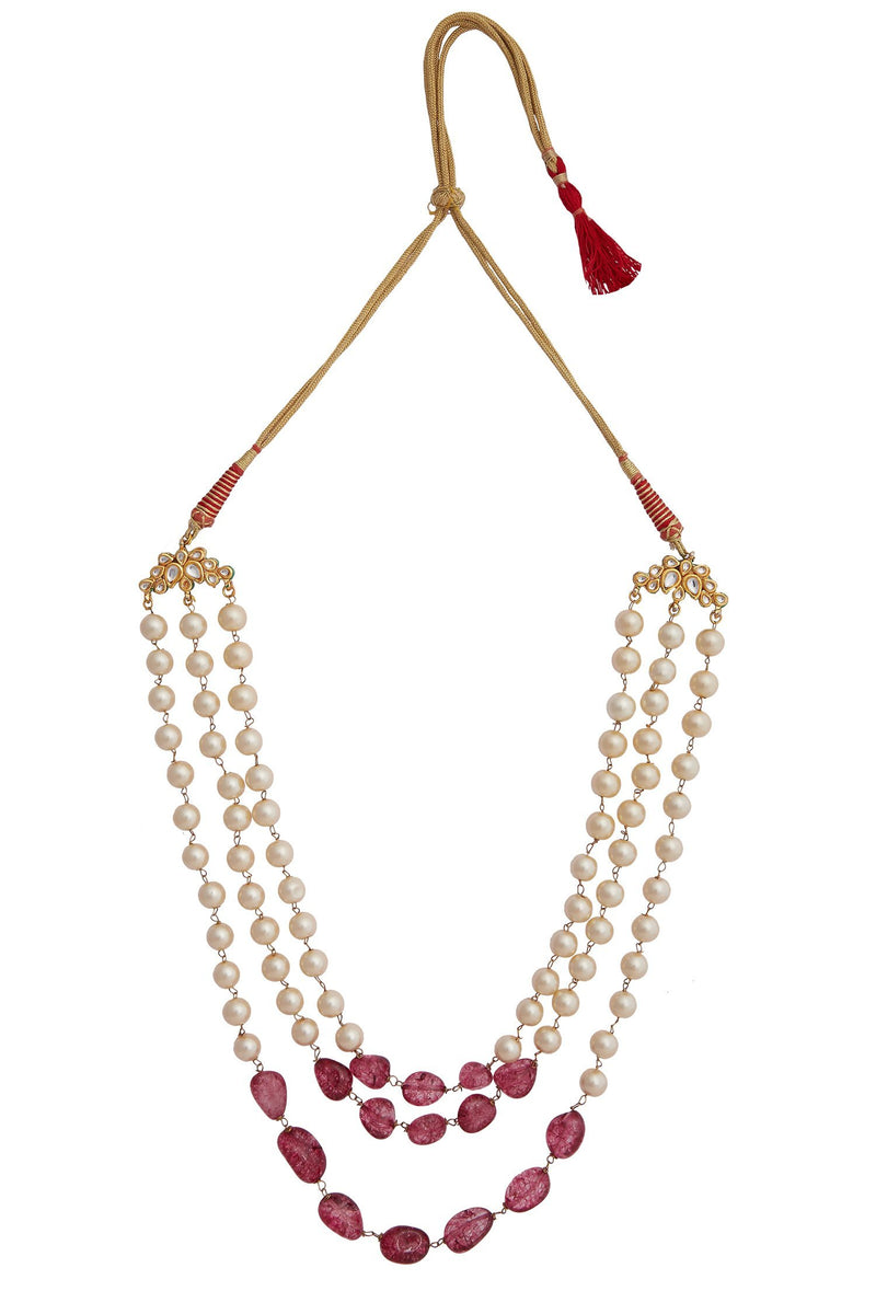 Ruby and Pearl Teenlada necklace - Monsoon.thedesignerstore