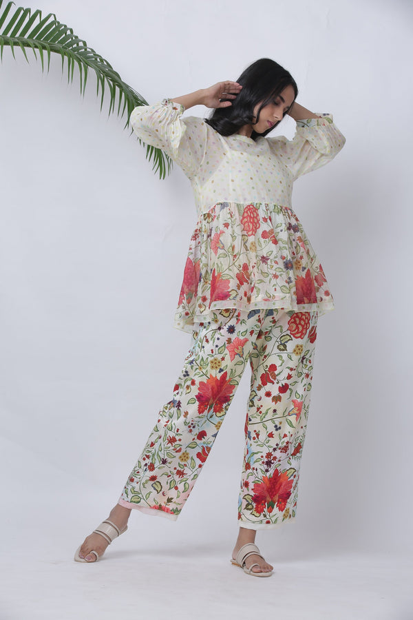 Ruhani top & pant - Monsoon.thedesignerstore