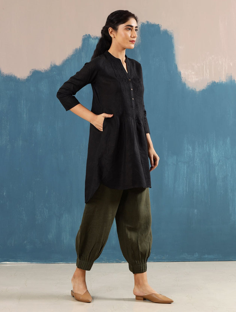 Satori Pleated Tunic - Monsoon.thedesignerstore