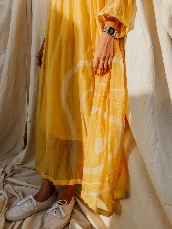 Sunny Yellow Arazi Dress - Monsoon.thedesignerstore
