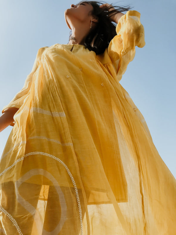 Sunny Yellow Ruzgar - Monsoon.thedesignerstore