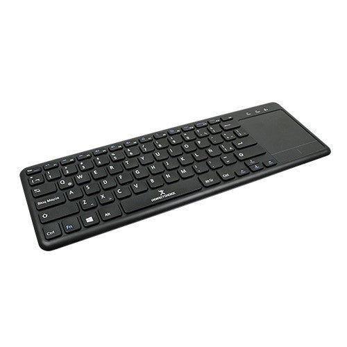 TECLADO INALAMBRICO CON TOUCH PAD PERFECT CHOICE NEGRO